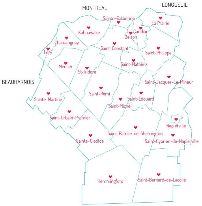 Territoire de la Fondation Anna-Laberge
